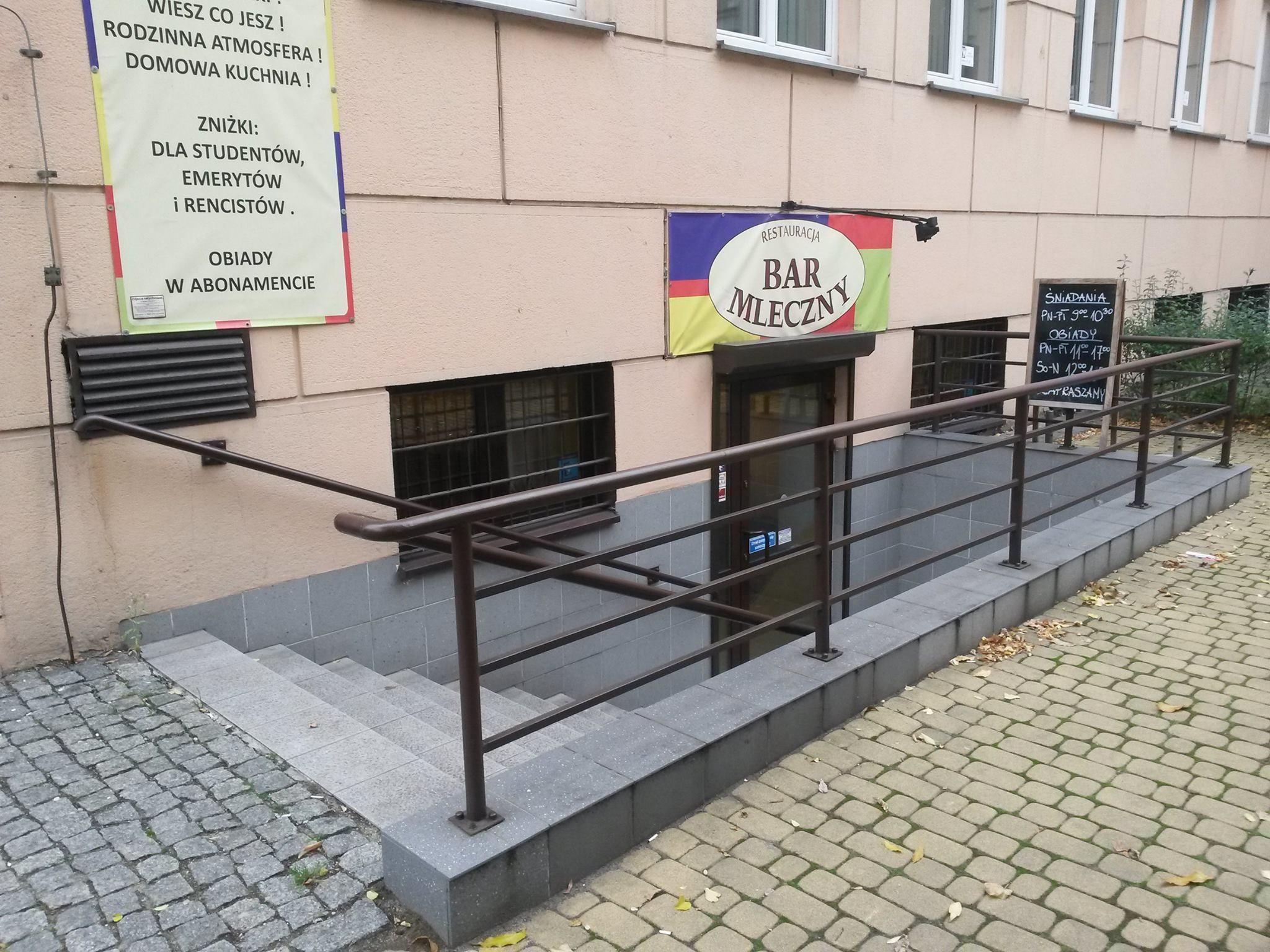 Restauracja Bar Mleczny śląskie Informacja Turystyczna Wo